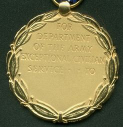 Army Exceptional Civilian Service